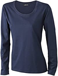 James & Nicholson Damen T-Shirt Langarmshirt