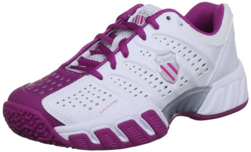 K-Swiss Bigshot Light Omni, Tennis et sports de raquette mixte adulte White/Magenta/Silver