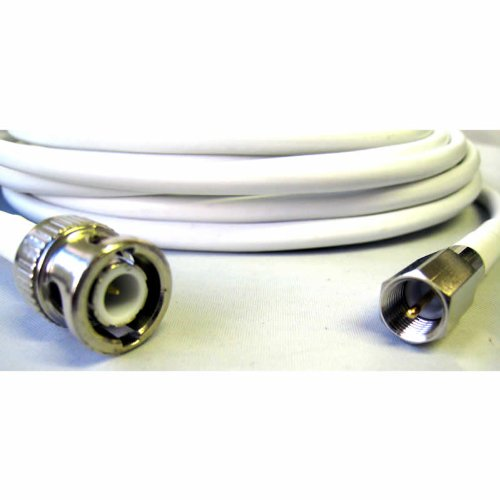 FME Male - BNC Male RG58 White Cable Extension (5m)