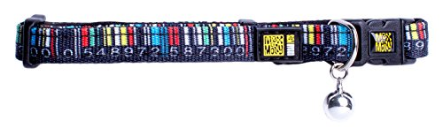 Max & Molly CAT COLLAR Katzenhalsband in verschiedenen Designs (Barcode) (Molly-design)