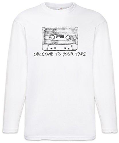 Cassette T-Shirt De Manga Larga Long Sleeve Shirt Tamaños S – 5XL