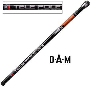 DAM Carbon Pocket-Pole - 3.0m, 9 tlg., unberingt, 79g