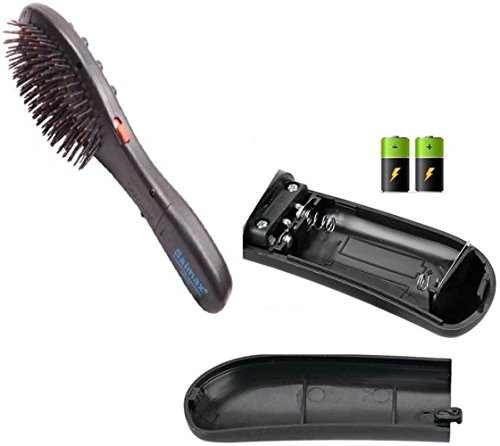 Electronic Magnetic 7 in 1 Hair massager Acupressure Head Hair Brush Vibrator Massager  available at amazon for Rs.389