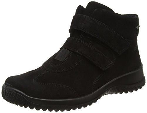 Legero Softboot Halb 574, Damen Sneaker, Schwarz (Schwarz 00), 39 EU (6 UK)