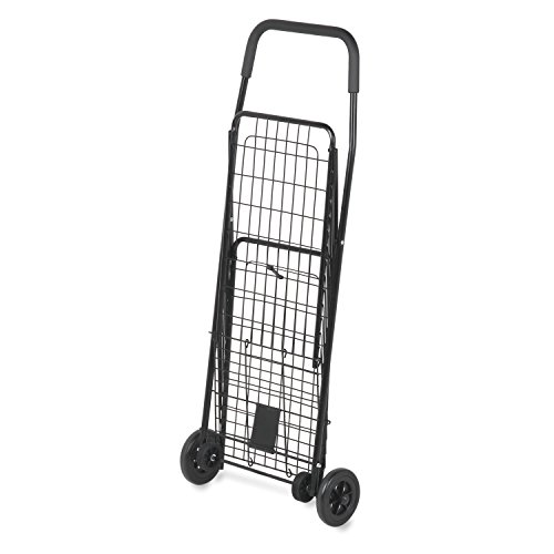 honey-can-do-crt-01511-chariot-multi-usage-a-4-roulettes-metal-noir-356-x-473-x-953-cm