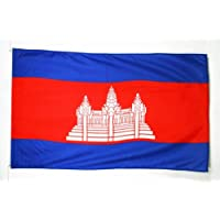 BANDERA de CAMBOYA 90x60cm - BANDERA CAMBOYANA 60 x 90 cm - AZ FLAG