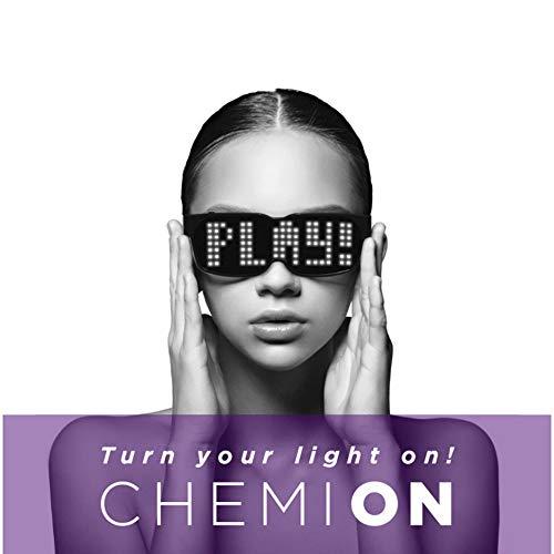 YII CHEMION-Special Nightclub Bluetooth Führte Gläser Party Geburtstagsparty Sonnenbrillen