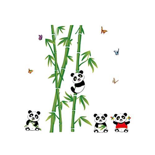 YeahiBaby bambú Panda Vinilo Pegatinas Pared niños
