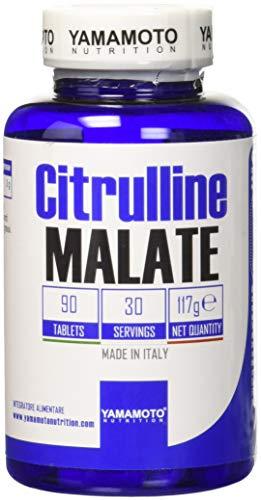 Yamamoto Nutrition Citrulline MALATE integratore alimentare che apporta 3 g di Citrullina Malata 90 compresse
