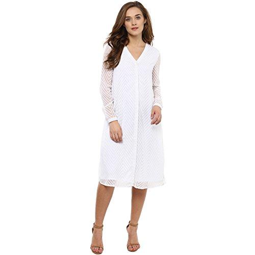 Femella Women's Dobby Shirt Dress