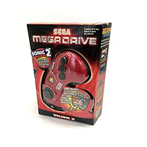 "Sega Mega Drive ""Arcade Legends 2"" – Plug & Play Konsole mit 6 Spielen"