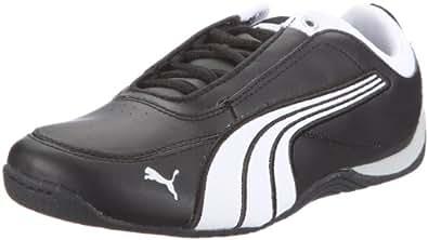 Puma Drift Cat 4 L 303979, Unisex-Kinder Sneaker, Schwarz (black-white-black 02), EU 33 (UK 1) (US 2)