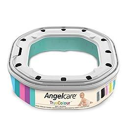 Angelcare 0666594201089 Dress Up Octagon-Nachfüllpackung, für Becken, Menge frei wählbar, blau