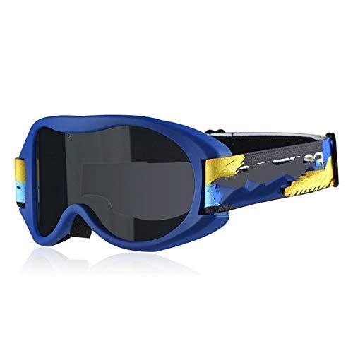 Skibrille Brille Schnee Ski Brille Doppelschicht Snowboard Anti-Fog Pc Gläser TPU UV Rahmen Brille Männer Frauen