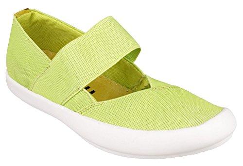 Cotswold Chedworth - Chaussures En Toile Vertes Uni Pour Dames