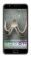 Wiko U Feel Prime Smartphone (12,7 cm (5 Zoll) Full HD IPS-Display, Fingerabdruck-Sensor, 32GB interner Speicher, Android 6 Marshmallow) anthrazit