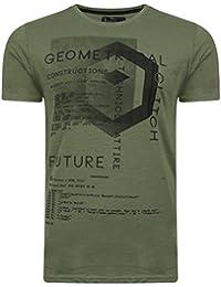 Dissident Men's Scoober Motif Printed Short Sleeve T-Shirt Size S-XXL