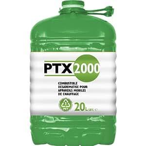 Zibro PTX 2000 Combustible désaromatisé pour appareils de chauffage