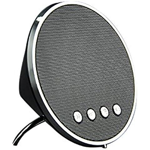 COOSA Mini Altavoz inalámbrico Bluetooth estéreo portátil de sonido de la música del altavoz central para Apple, MI, Samsung, Huawei, HTC, y el otro teléfono Ipad (619,