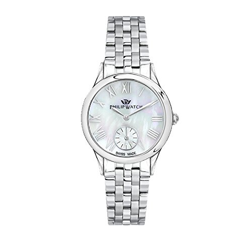 PHILIP WATCH Womens Analogue Quartz Watch with Stainless Steel Strap R8253596505