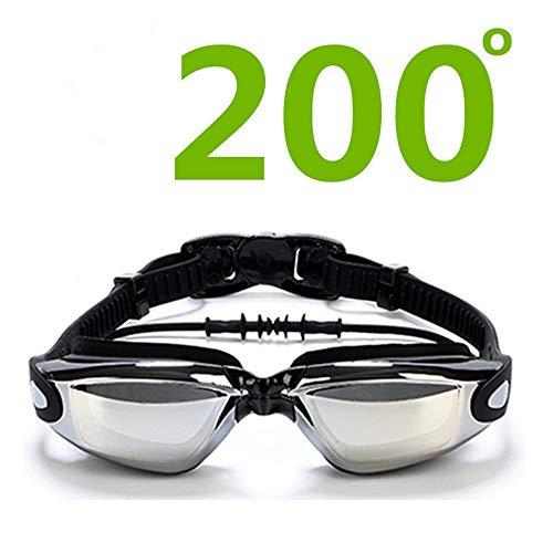 SFHGwasserdicht und nebel beweis schwimmen brille transparente high - definition - schwimmen,200 grad kurzsichtigkeit