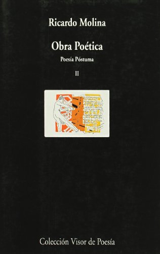 Obra poética II: Poesía Póstuma (Visor de Poesía) por Diego Martínez Torrón