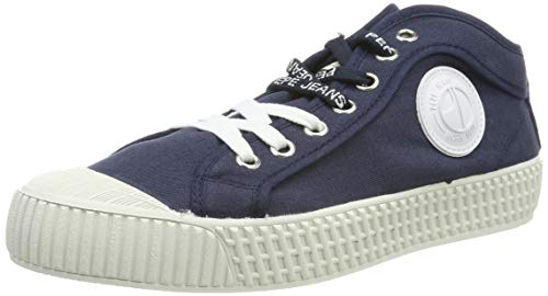 Pepe Jeans London Damen IN- IN-G HI Woman Sneaker, Blau (595navy 595), 40 EU