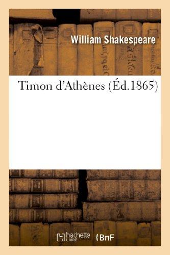 Timon d'Athènes par William Shakespeare
