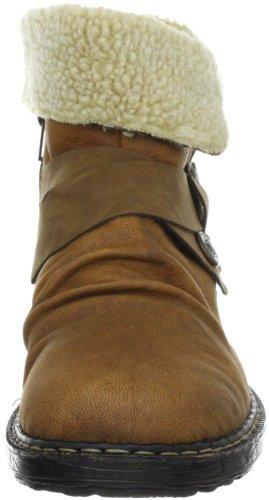Rieker 79271-24 Damen Fashion Halbstiefel & Stiefeletten Braun (peanut/peanut/beige 24)