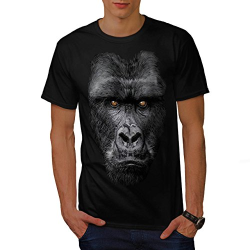 majestueux-gorille-singe-sauvage-animal-homme-nouveau-noir-l-t-shirt-wellcoda