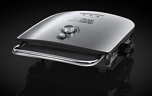 George Foreman Enhanced 5-Portion Grill and Melt 22160 - Silver
