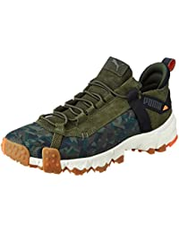 Puma Unisex's Trailfox Camo Forest Sneakers