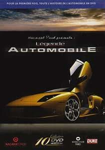 Coffret Légende automobile : 10 DVD Porsche, Ferrari, Bentley, Rolls Royce, Jaguar, Cadillac, ADM, Coupé et Cab, Ferrari 250 GTO et Rallye