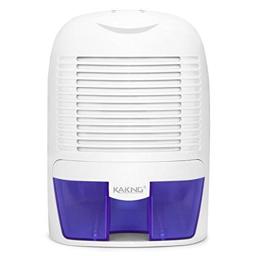 KAIKING Luftentfeuchter mit 1500ML Wassertank Mini Raumentfeuchter Entfeuchter gegen Schimmel Feuchtigkeit für Küche Kellerräume Schlafzimmer Wohnwagen Büro Wohnong und Garage