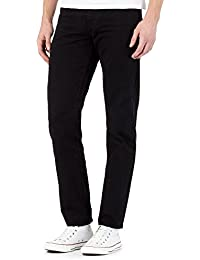 Red Herring Big and Tall Black Straight Fit Jeans