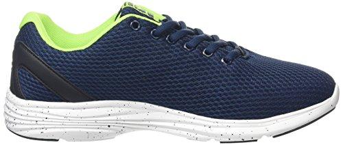 Gola Equinox Multisport, Sneakers da Uomo Blu (navy/black/lime)