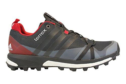 adidas Terrex Agravic Dark Grey Black Power Red