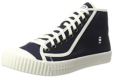 G-STAR RAW Rovulc HB Low, Sneakers Basses Homme, Bleu (DK Navy 881), 45 EU