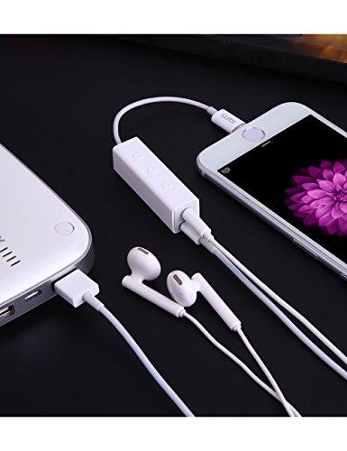 41wgvm4IdhL - [Amazon.de] IQIYI Lightning Adapter auf Klinke und Lightning mit Kopfhörersteuerung für 18,84€ statt 28,99€