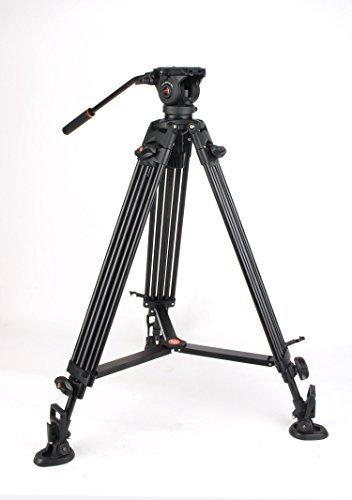 Coman DX16 Aluminum Video Tripod - Video-stativ Fluidkopf