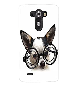 ColourCraft Funny Dog Back Case Cover for LG G3 D855