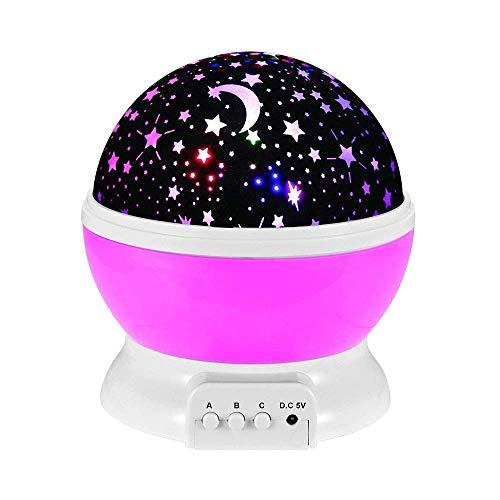 2-12 Jahre alte Mädchen Weihnachtsgeschenke, GZMY Stern-Projektor-Nachtbeleuchtung für Kinder 3-12 Jahre alte Junge Geschenke Spielzeug für 3-12 Jahre alte Jungen Mädchen Babys Schlafzimmer Lichter