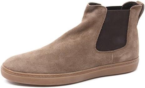 B4070 beatles uomo TOD'S polacchino elastico marrone chiaro shoe boot man