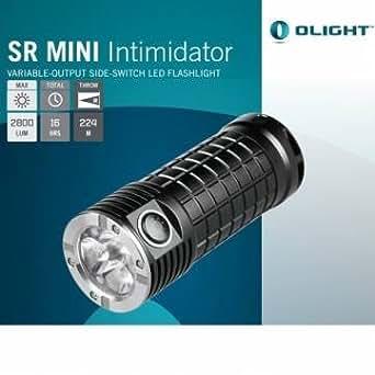 Kyz Kuv Olight SR Mini Intimidator 2800lm 3 LED XM-L2 Lampe torche à LED