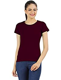 Ap'pulse Women's Round Neck T Shirt