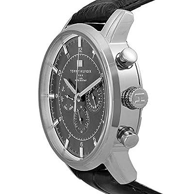 Reloj para hombre Tommy Hilfiger 1790875, mecanismo de cuarzo, diseño con varias esferas, correa de piel. de Tommy Hilfiger
