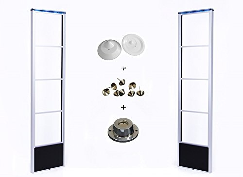 1-Komplett-Set-RF-DSP-Warensicherungssystem-mit-Hartetiketten-und-Magnetlser