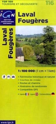 Laval/Fougeres: IGN.V116