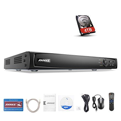 Netzwerk Video Recorder NVR 9 Kanal HQ für IP-Kamera Onvif 2.4 1TB Festplatte