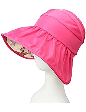 Cappello da sole estate del bambino e della donna anti-UV aperto al cappello di sole superiore spiaggia cappello...